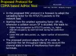 proposed protocol for cdma based adhoc nws