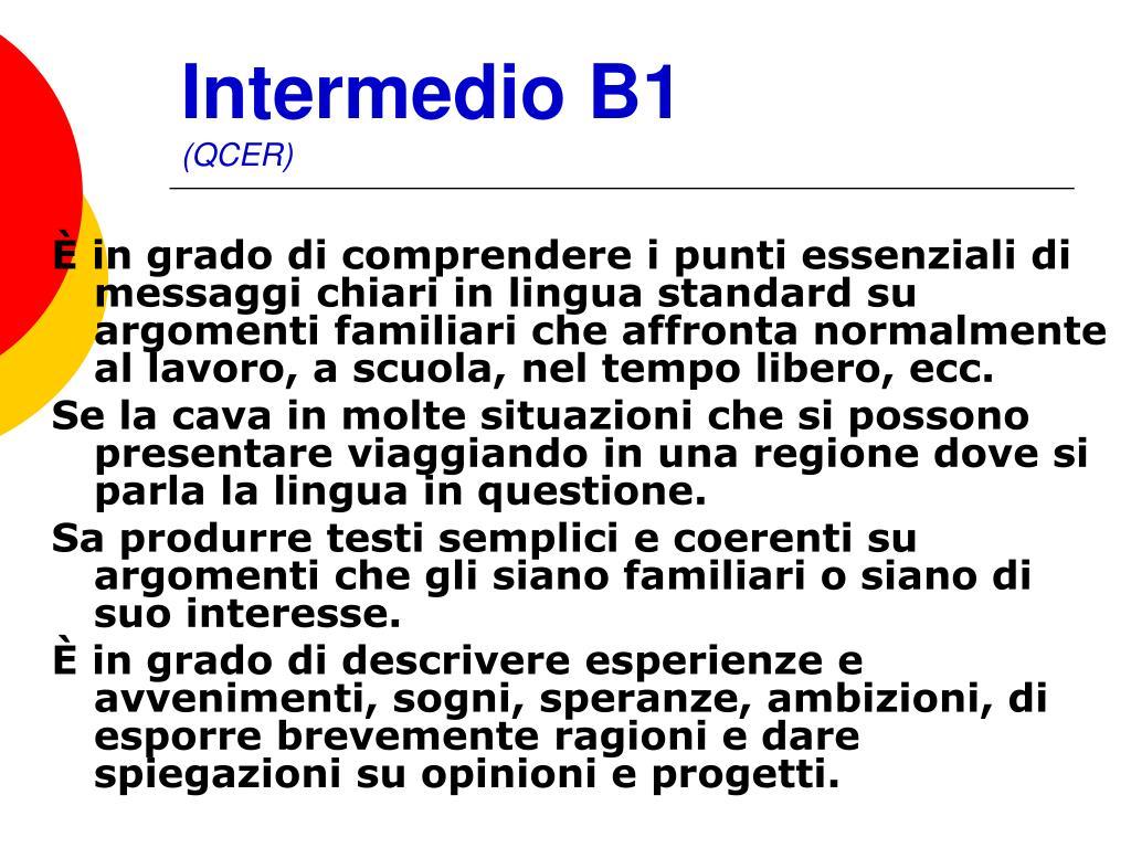 Intermedio B1
