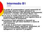 intermedio b1 qcer