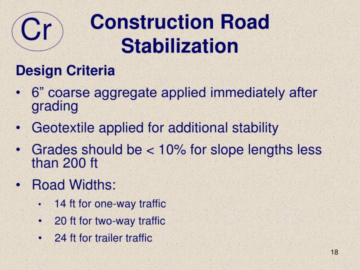 Construction Road