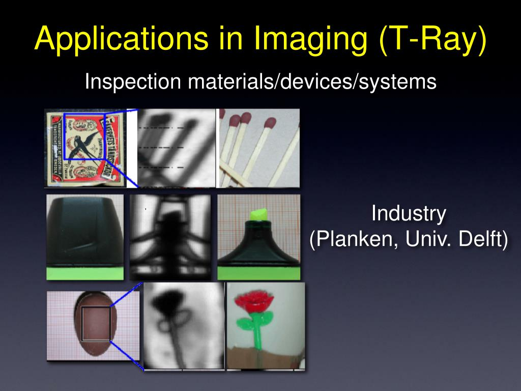 Applications in Imaging (T-Ray)