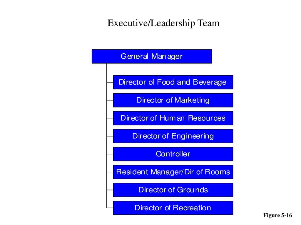 Executive/Leadership Team