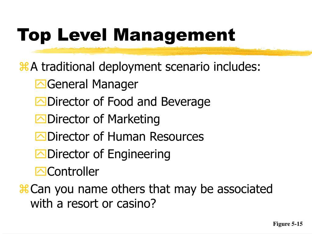 Top Level Management