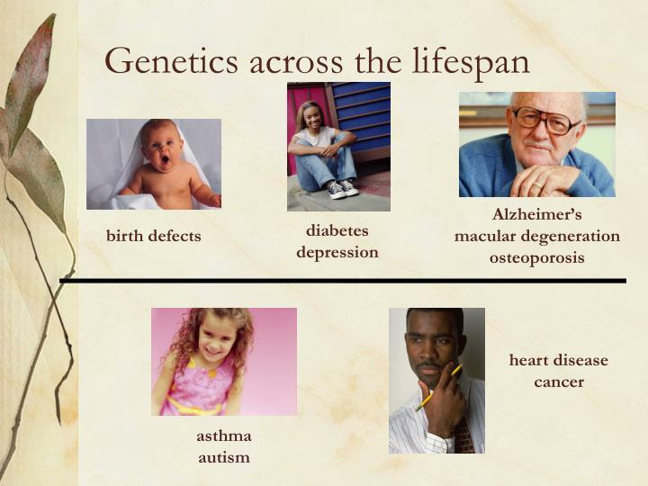 Genetics across the lifespan