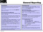 general reporting2