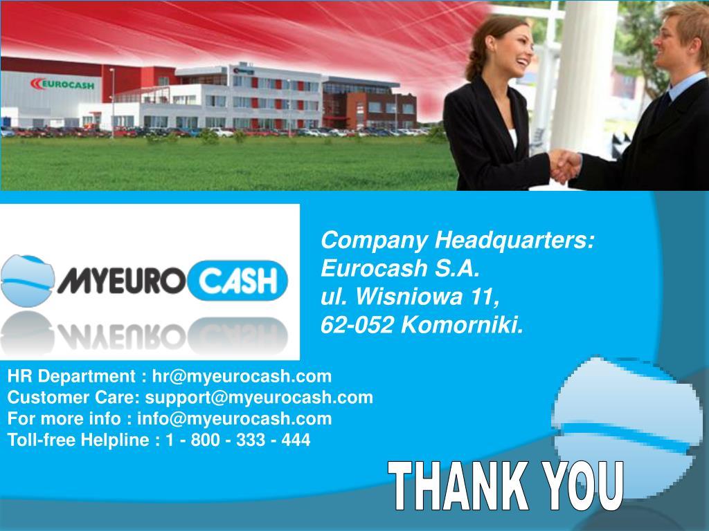 Company Headquarters: