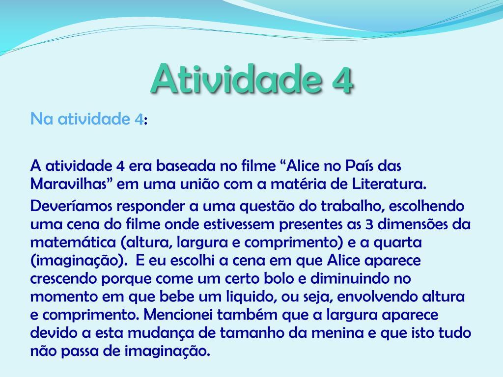 Atividade 4