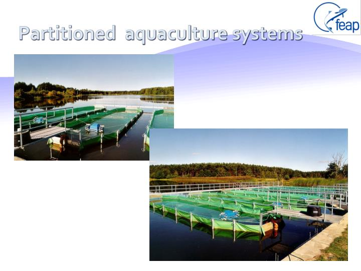 Partitioned  aquaculture systems
