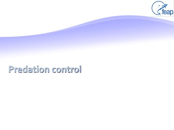 Predation control