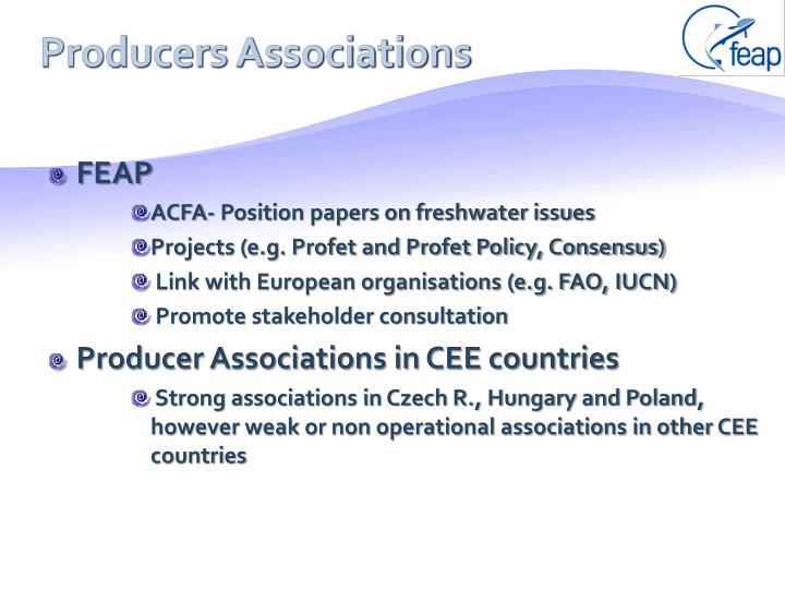 Producers Associations