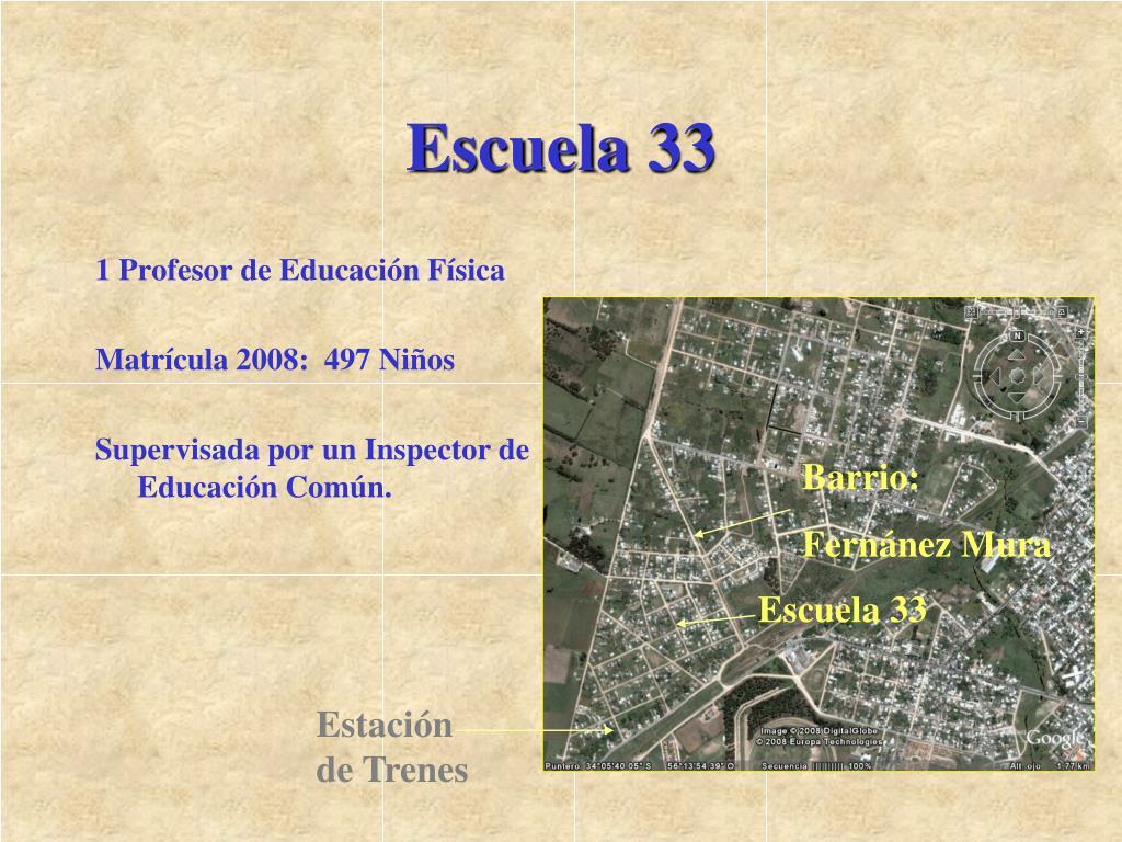 Escuela 33
