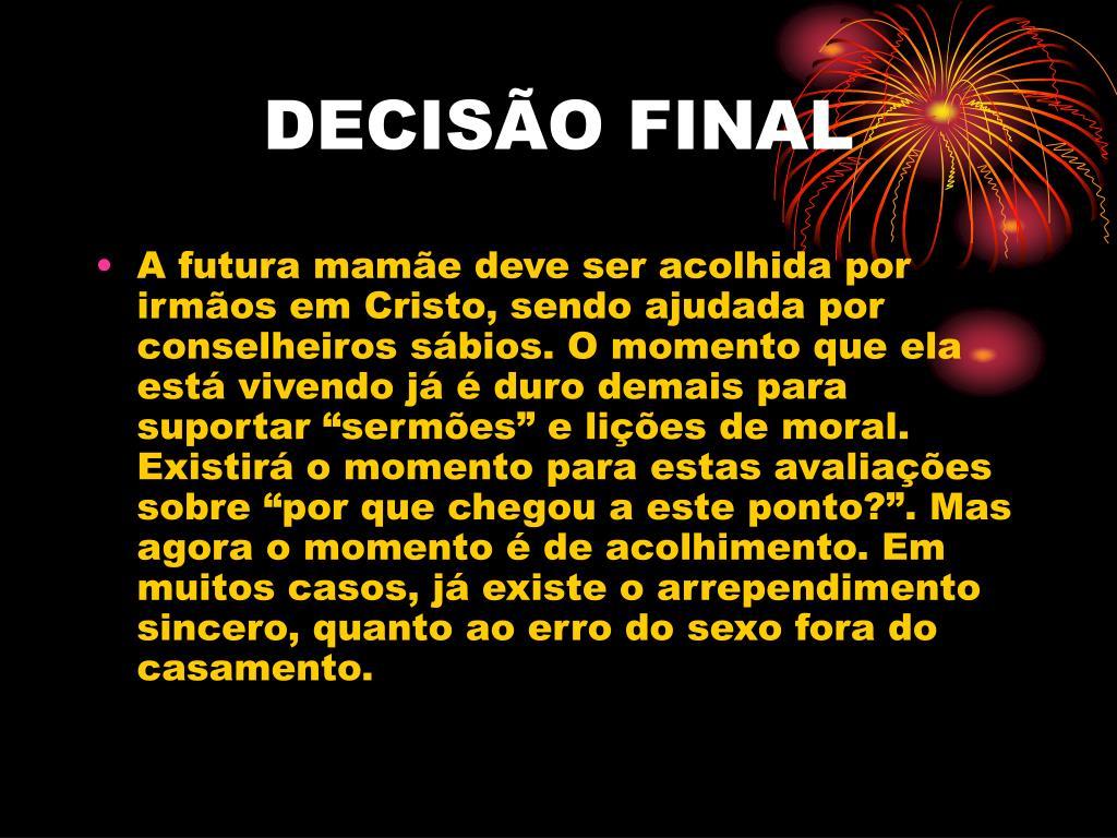 DECISÃO FINAL