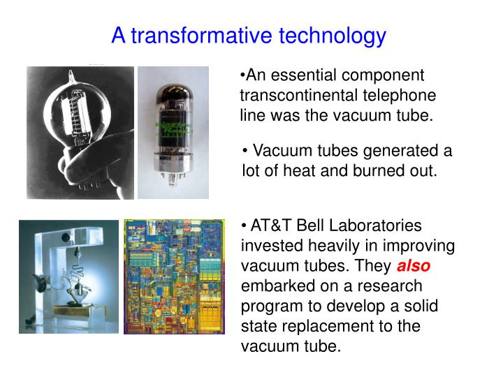 A transformative technology