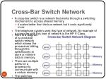 cross bar switch network