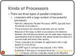 kinds of processors35