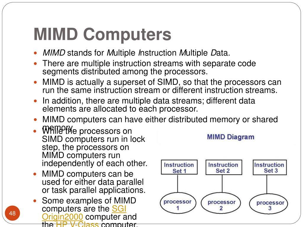 MIMD Computers