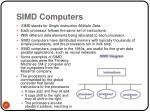 simd computers