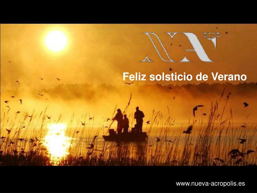 Feliz solsticio de Verano