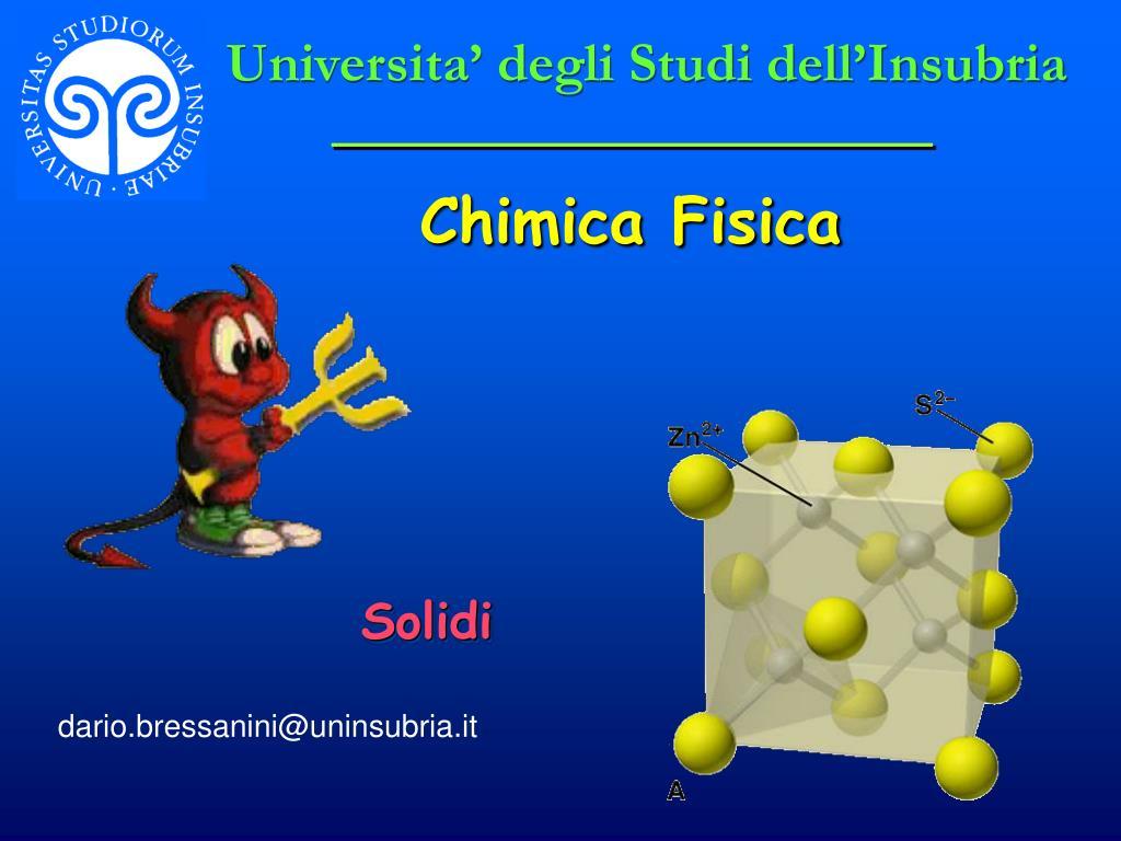 Universita' degli Studi dell'Insubria