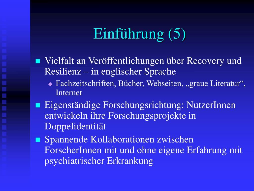 Einführung (5)