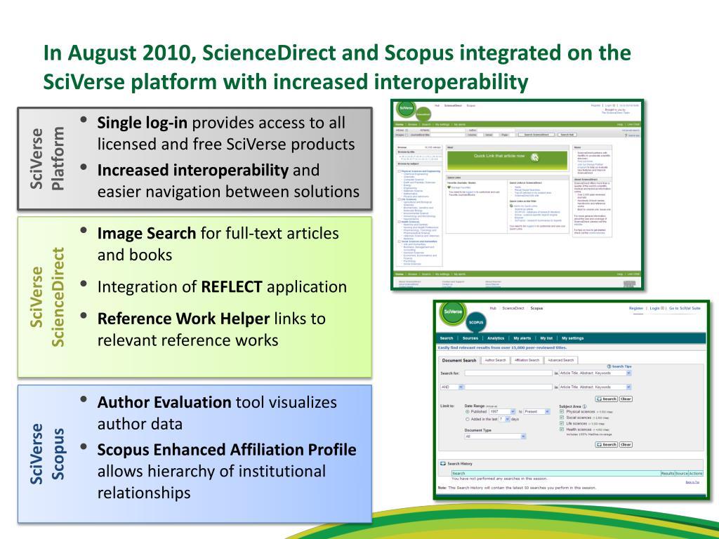 SciVerse Platform
