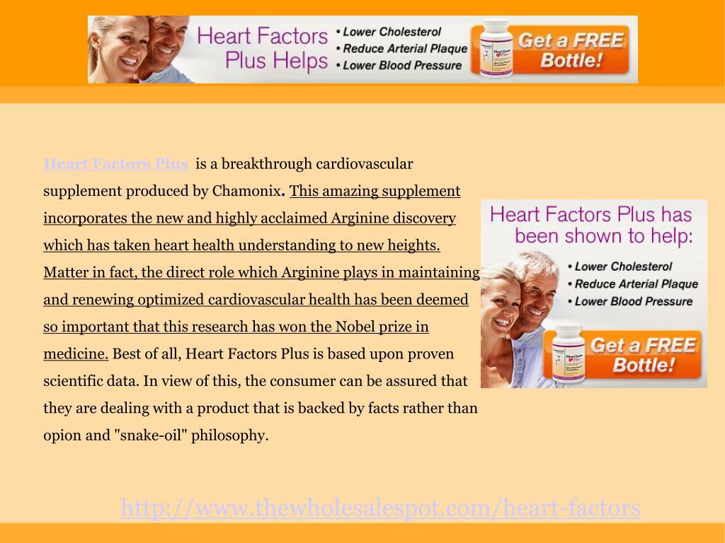Heart Factors Plus