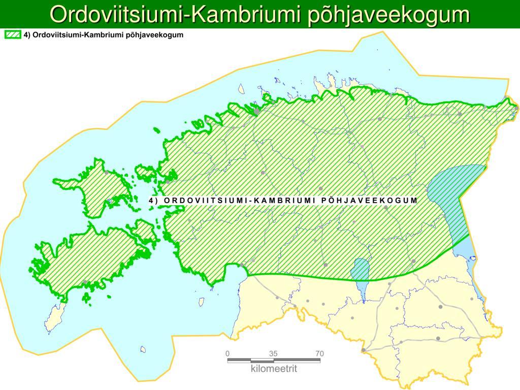 Ordoviitsiumi-Kambriumi põhjaveekogum