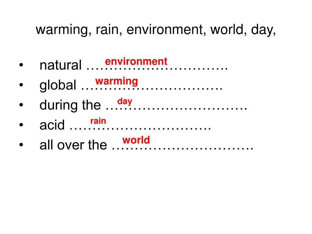 warming, rain, environment, world, day,