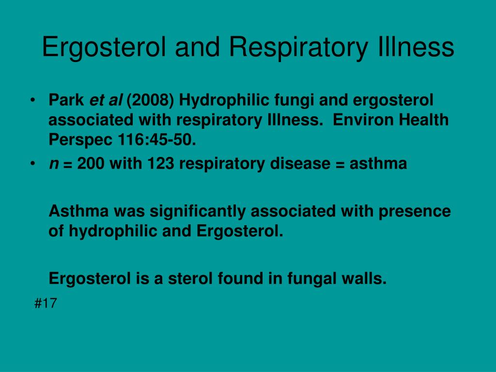 Ergosterol and Respiratory Illness