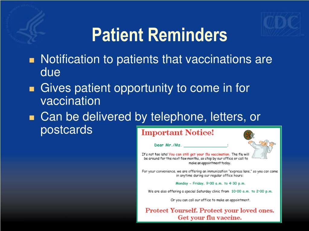 Patient Reminders