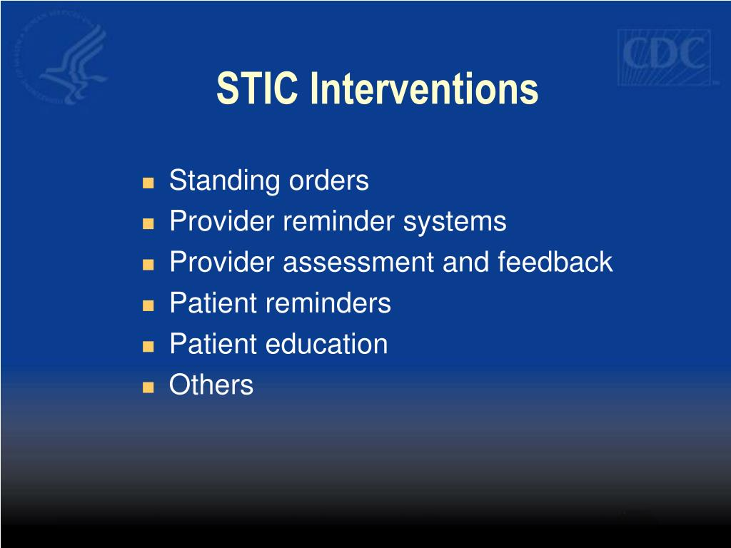 STIC Interventions