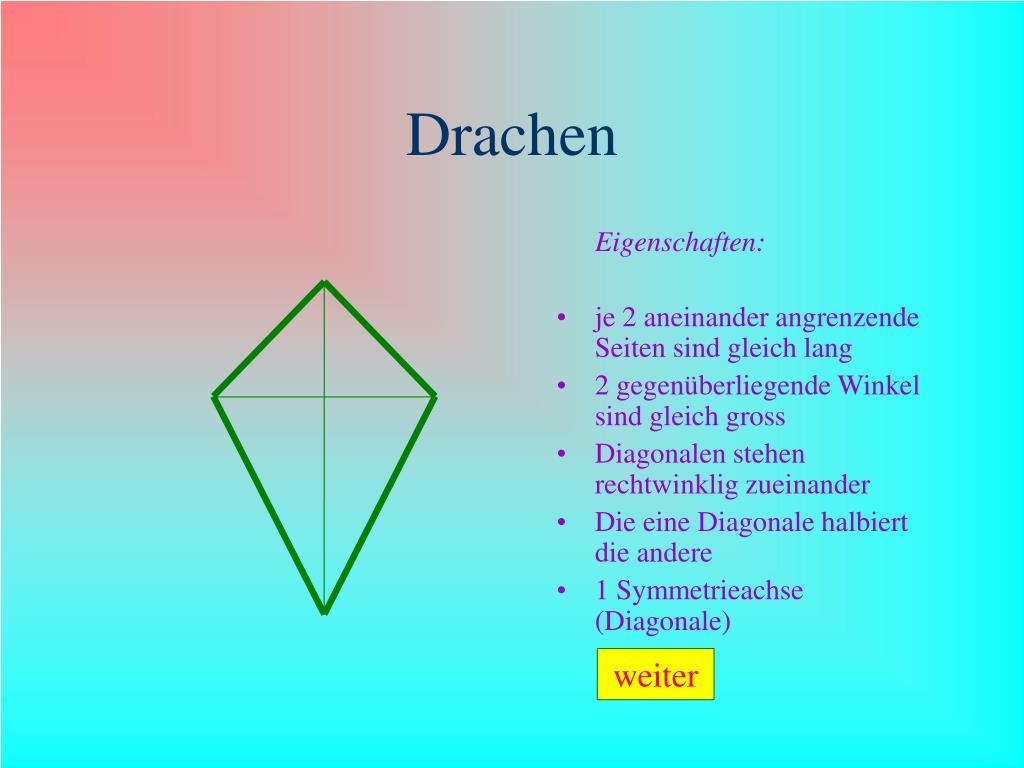 Eigenschaften Eines Drachen