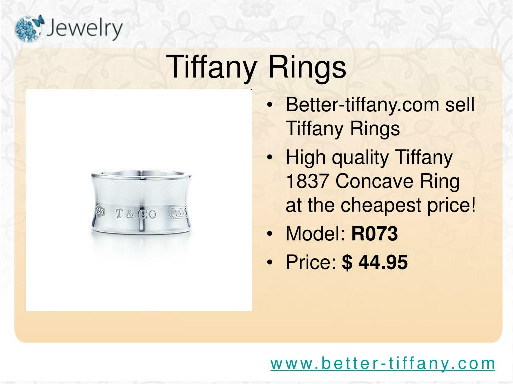 Better-tiffany.com sell Tiffany Rings