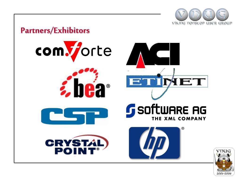 Partners/Exhibitors