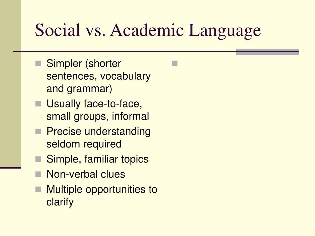 Simpler (shorter sentences, vocabulary and grammar)