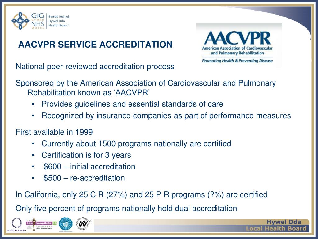 AACVPR SERVICE ACCREDITATION