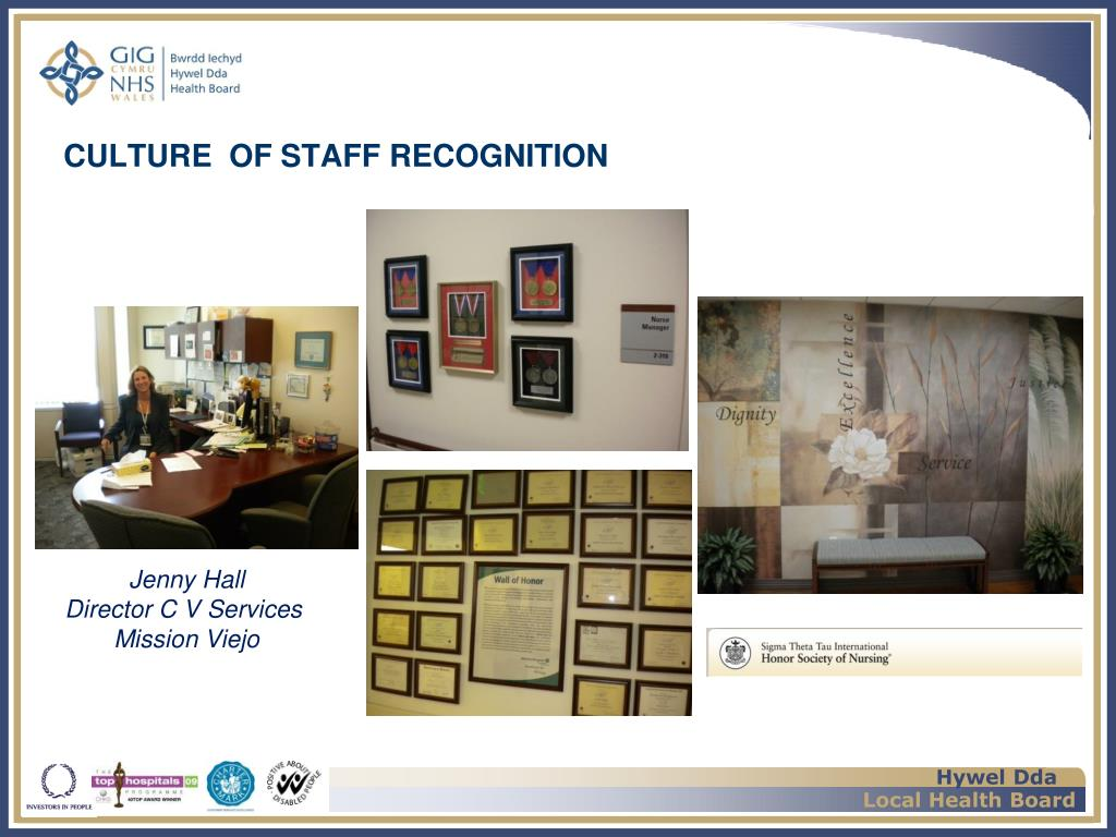 CULTURE  OF STAFF RECOGNITION
