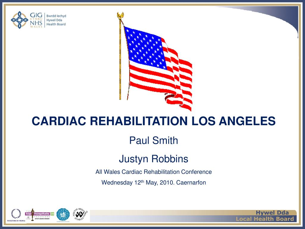 CARDIAC REHABILITATION LOS ANGELES
