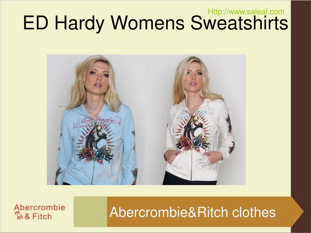 ED Hardy Womens Sweatshirts