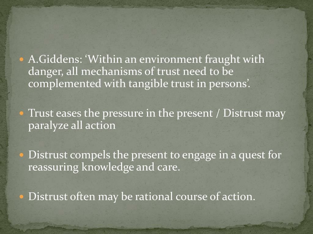 A.Giddens