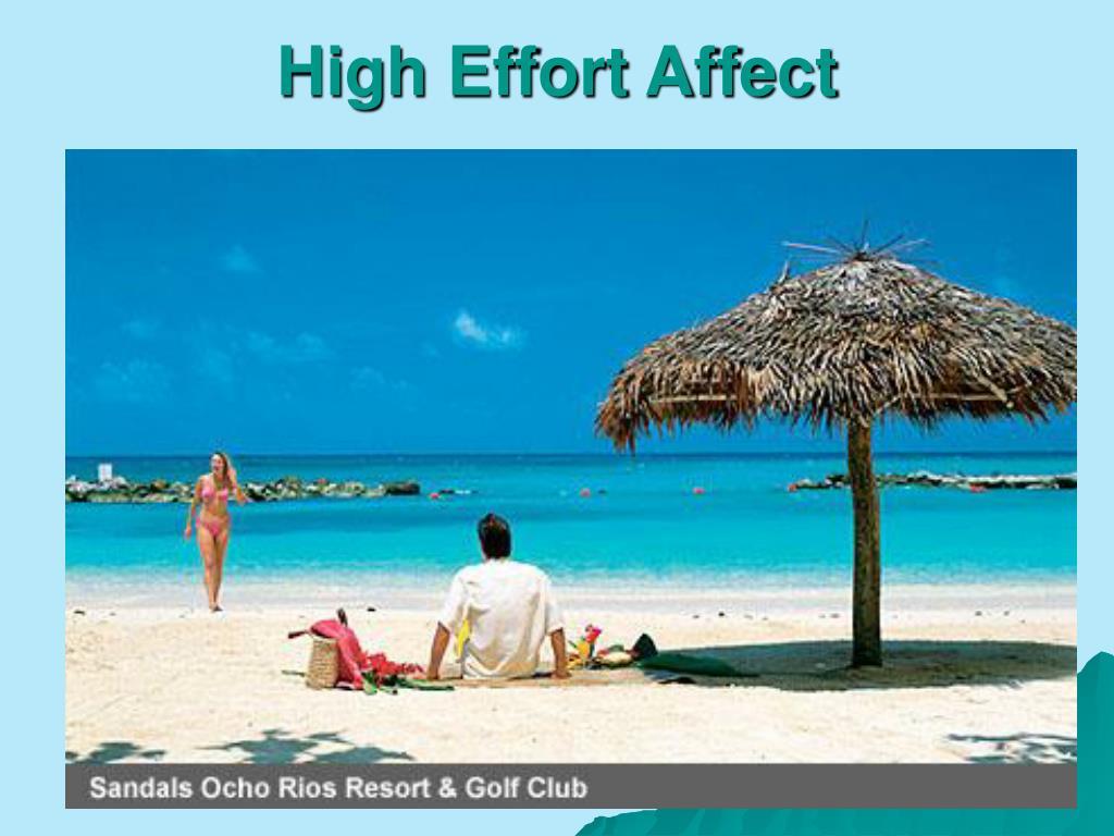 High Effort Affect