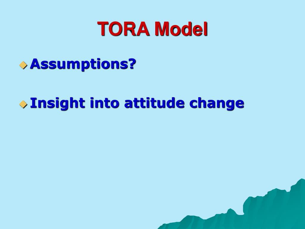 TORA Model