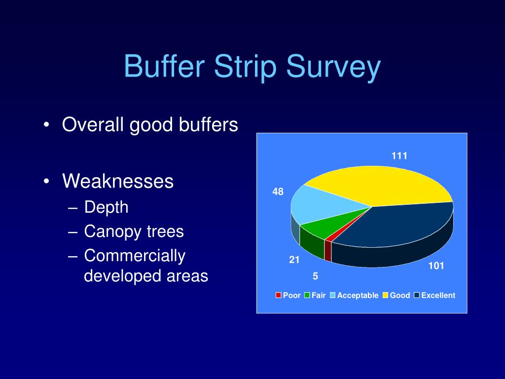 Buffer Strip Survey