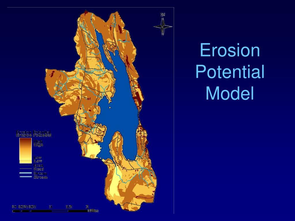 Erosion Potential Model