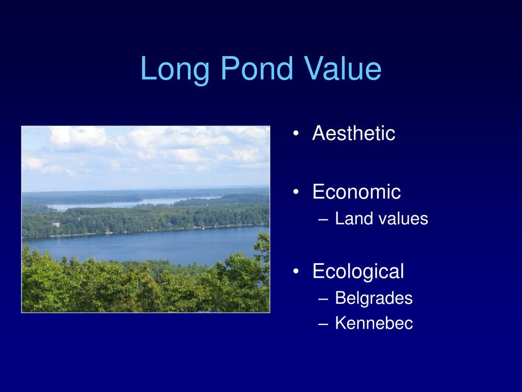 Long Pond Value