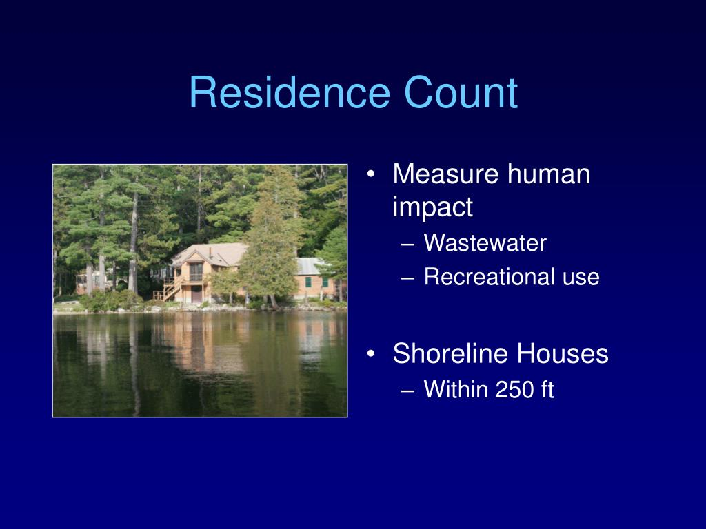 Residence Count