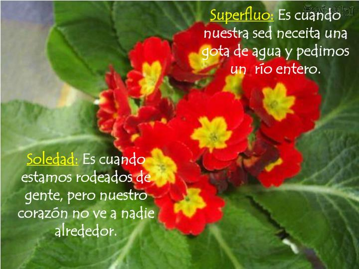 Superfluo: