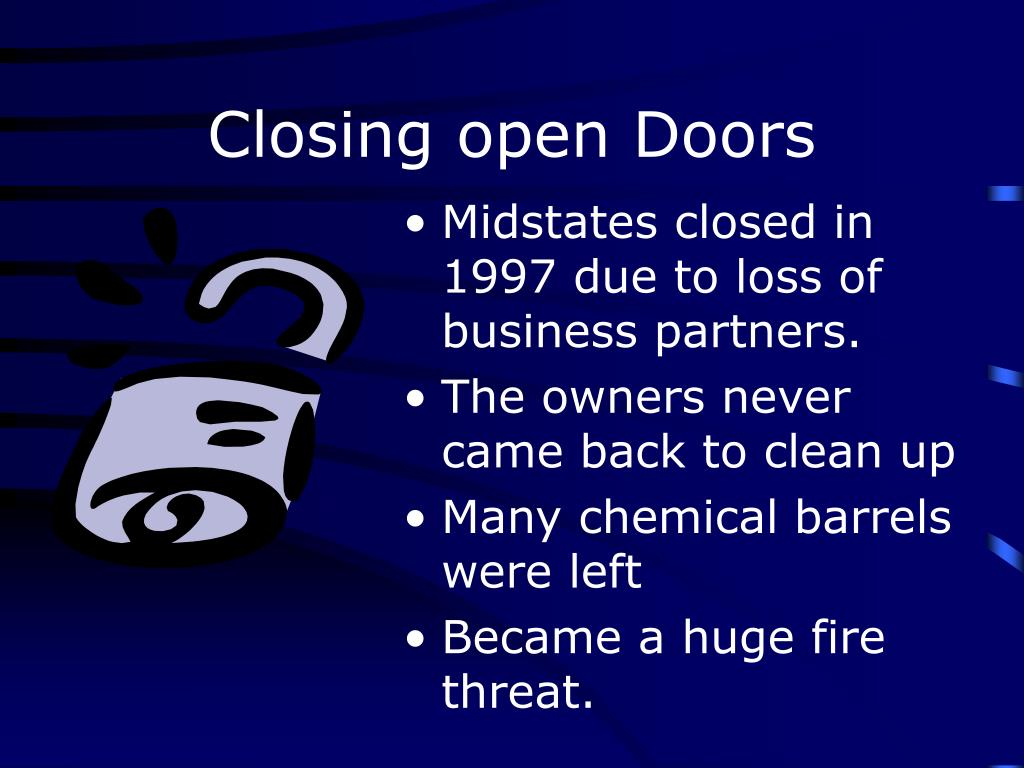 Closing open Doors