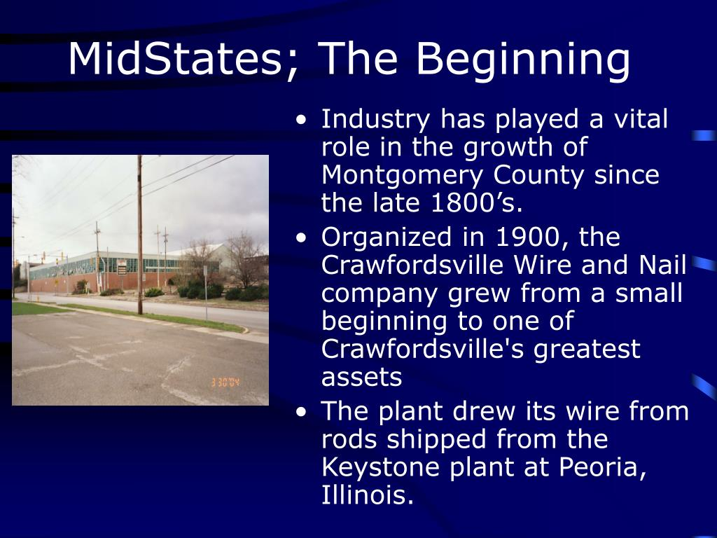 MidStates; The Beginning