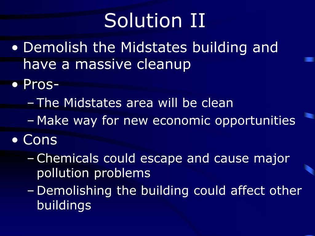 Solution II